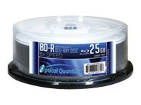 Optical Quantum Logo Top 25 x BD-R 25 GB 6x spindle