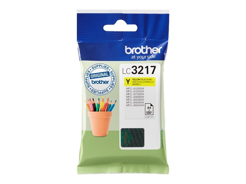 Brother LC3217Y - Gelb - Original - Tintenpatrone - für Brother MFCJ6530; INKvestment Business Smart Pro MFC-J6935