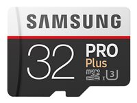 Samsung Pro Plus MB-MD32G - Flash-Speicherkarte (microSDHC/SD-Adapter inbegriffen)