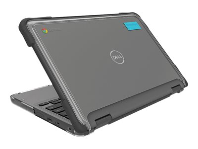 Gumdrop SlimTech Notebook top and bottom cover black for Dell