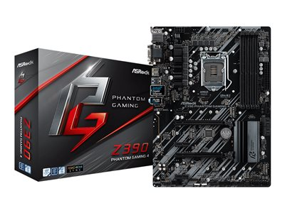 ASRock Z390 Phantom Gaming 4 ATX LGA1151  Intel Z390