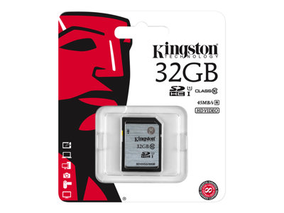 - Flash-Speicherkarte - 32 GB - SDHC UHS-I