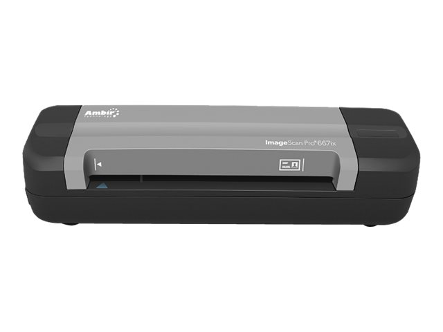 Ambir ImageScan Pro 667ix - sheetfed scanner - portable - USB 2.0