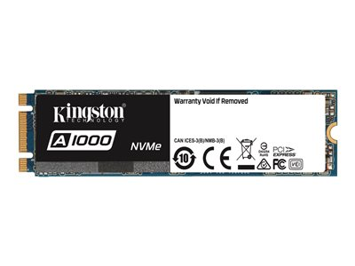 Kingston SSD A1000 240GB M.2 PCI Express 3.0 x2 (NVMe)