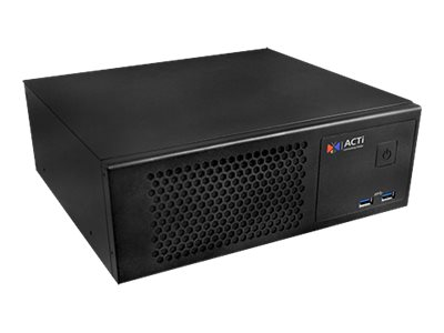 ACTi PCS-200 Server DTS 1-way 1 x Core i7 6700TE / 2.4 GHz RAM 8 GB SSD 128 GB GigE