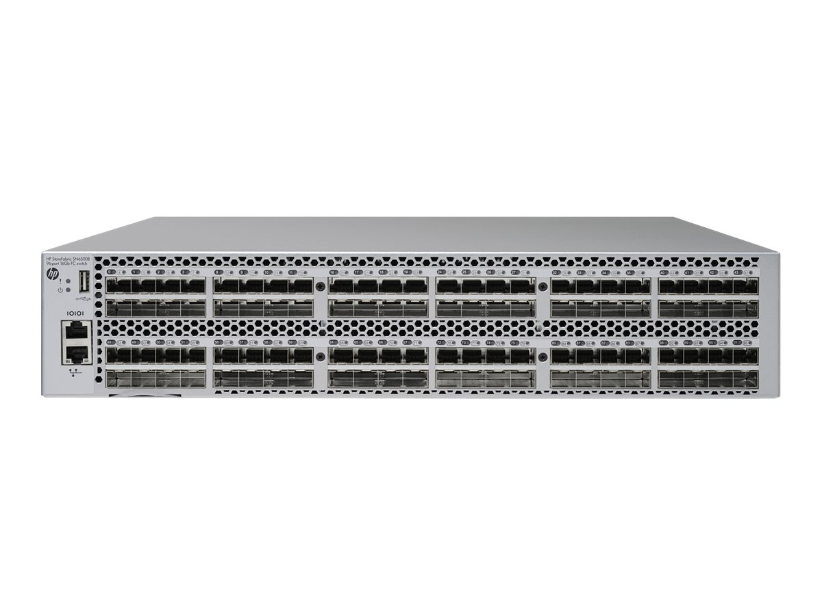 HPE StoreFabric SN6500B 16Gb 96-port/48-port Active Fibre Channel Switch - switch - 48 ports - managed - rack-mountable