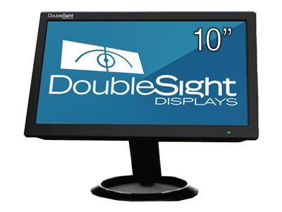 DoubleSight DS-10U LCD monitor 10.1INCH (10.1INCH viewable) 1024 x 600 200 cd/m² 500:1