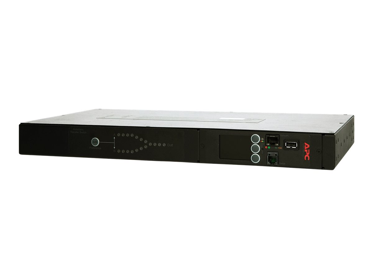 APC Rack Automatic Transfer Switch AP4434 - redundant switch