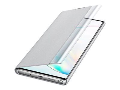 EF-Zn975 Silber f/ür Galaxy Note10+ Samsung Clear View Cover Note10+ 5g