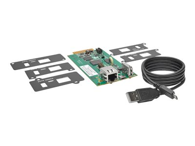 Tripp Lite UPS Web Management Accessory Card SNMP Remote Monitoring HTML5 - remote management adapter