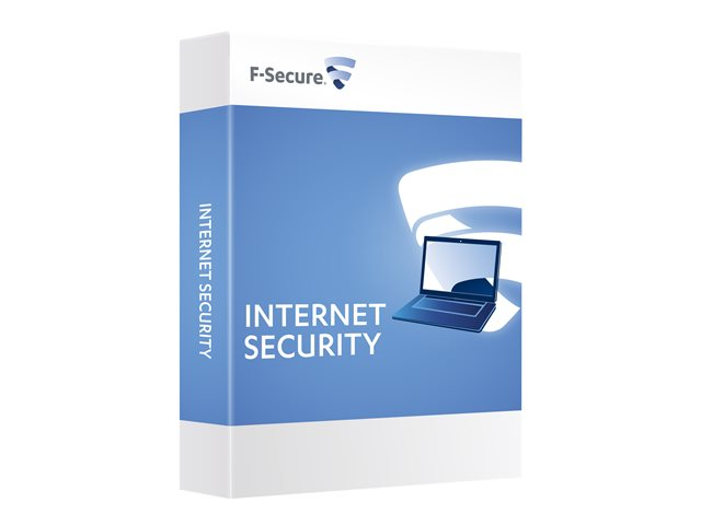 F-Secure Internet Security - Subscription licence (1 year) + 1 Year Standard Support and Maintenance Services - 1 computer - ESD - Win - International
