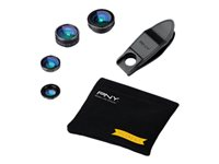 PNY 4-IN-1 Lens - Kit de lentilles de conversion