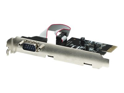 Manhattan Serial PCI Express Card - Serieller Adapter - PCIe Low Profile - RS-232