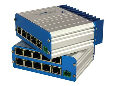 Veracity CAMSWITCH Mobile 4 Switch unmanaged 4 x 10/100 (PoE+) + 1 x 10/100 desktop