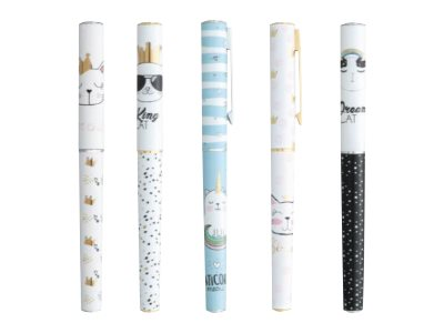 Stylos plumes fantaisie Ink Metal P'tit chat PLUMink - stylo plume