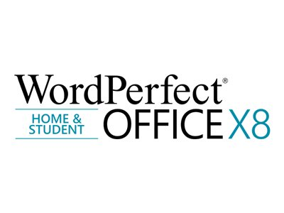 WordPerfect Office X8 Home and Student Edition License 1 user download ESD Win