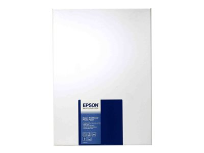 Epson Traditional Photo Paper Fotopapir A4 (210 x 297 mm) 25ark