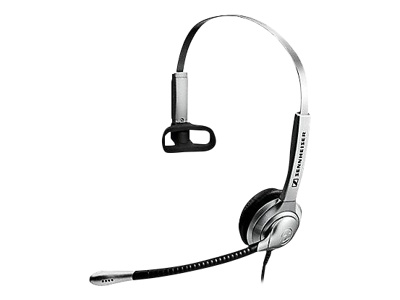 Sennheiser SH 330 - Headset - on-ear - wired - Quick Disconnect - silver