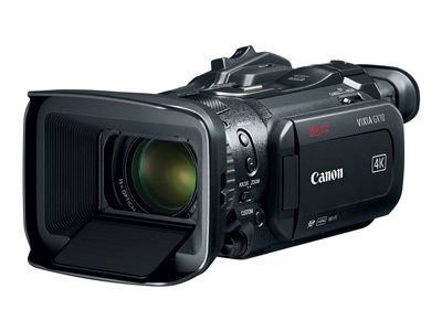 Canon VIXIA GX10 Camcorder 4K / 60 fps 13.4 MP 15x optical zoom flash card