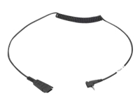 Zebra - Headset adapter - stereo micro jack (M) - for Zebra MC3200, MC3300