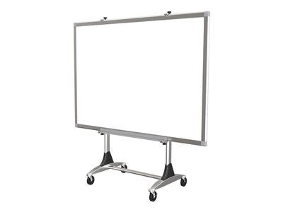 MooreCo Genius Mobile Board Stand Cart for interactive whiteboard / markerboard