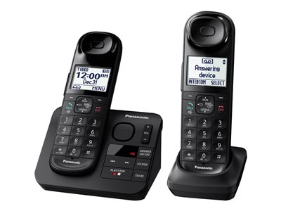Panasonic KX-TGL432B Cordless phone answering system with caller ID/call waiting DECT 6.0