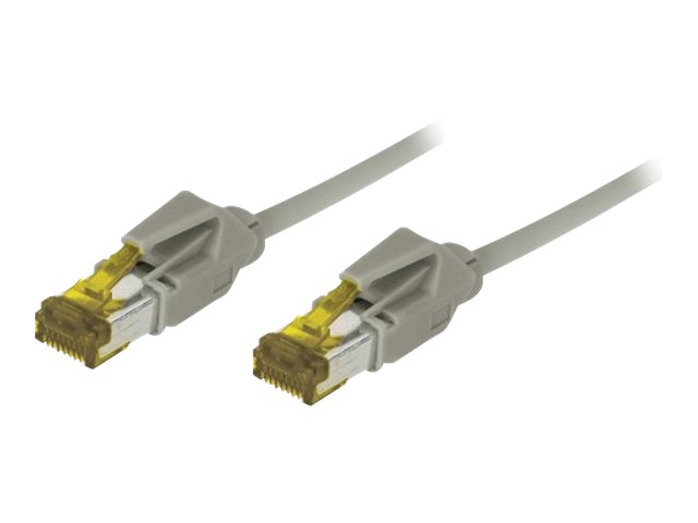 Cordon Patch Rj45 S/Ftp Cat 6A Lsoh Snagless Gris - 50 M