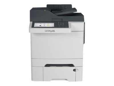 Lexmark CX510dthe - Multifunktionsdrucker - Farbe - Laser - Legal (216 x 356 mm) (Original) - Legal (Medien)
