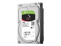 Seagate IronWolf Pro ST4000NE0025 Hard drive 4 TB internal 3.5INCH SATA 6Gb/s 7200 rpm