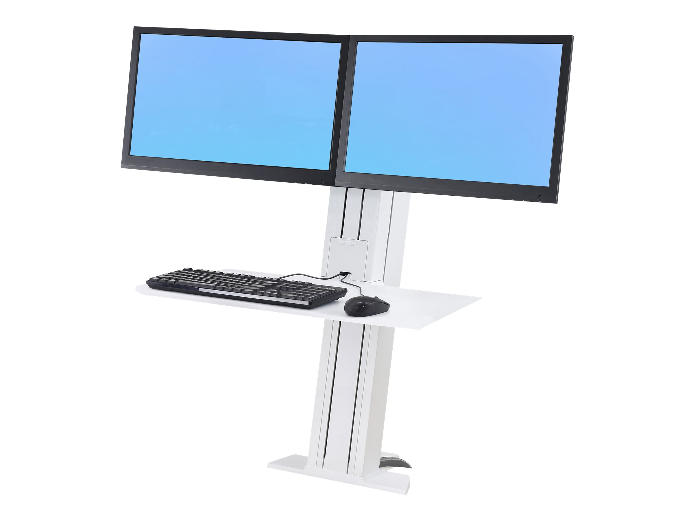 Ergotron WorkFit-SR Dual Sit-Stand Workstation - stand