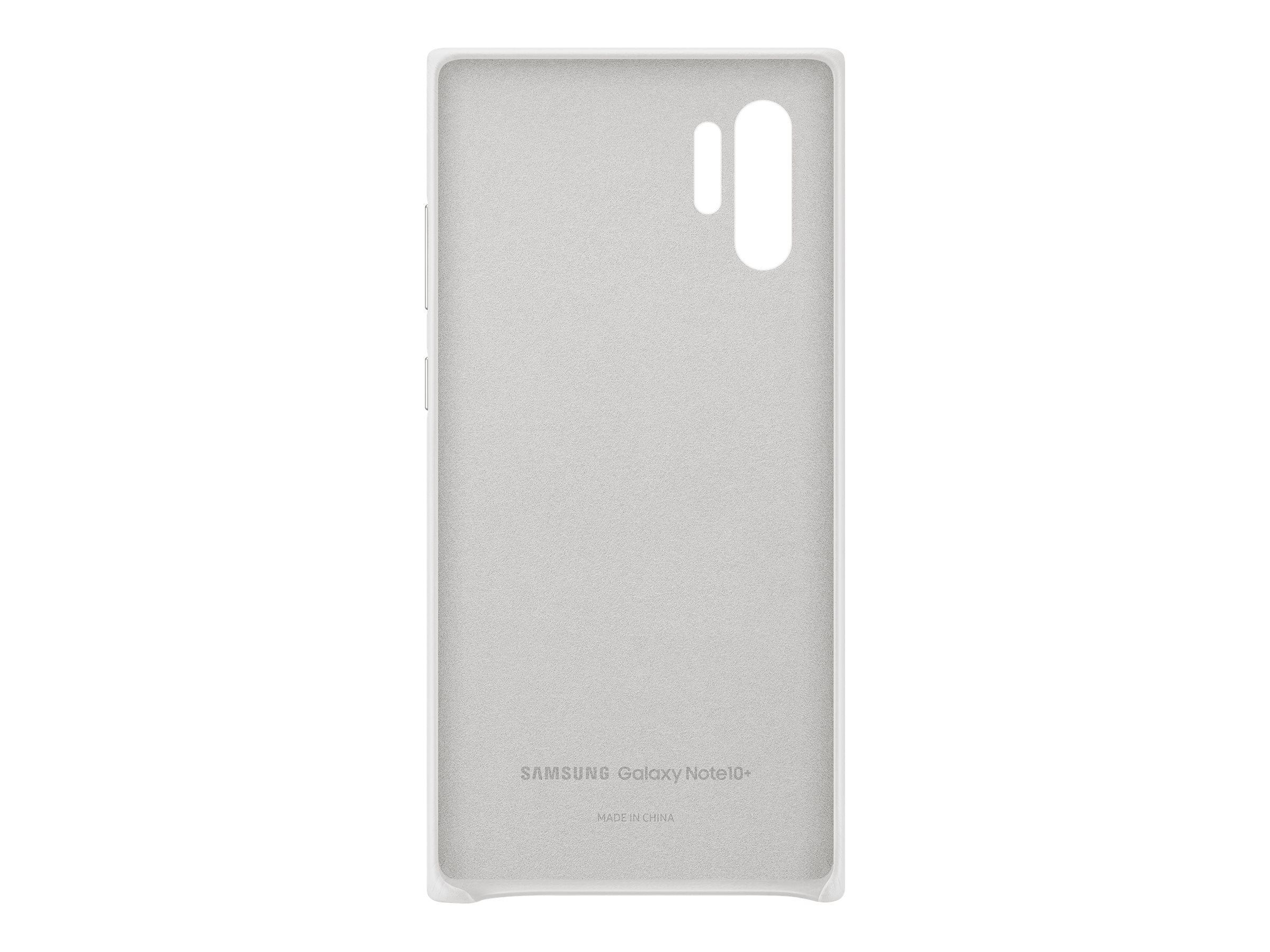 Samsung Leather Back Cover EF-VN975 - back cover for cell phone