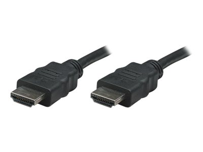Manhattan High Speed HDMI Cable - HDMI-Kabel - HDMI (M) bis HDMI (M) - 7.5 m - abgeschirmt - Schwarz