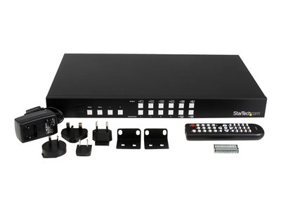 StarTech com 4-Port HDMI Switch with PIP - video splitter - 4 ports