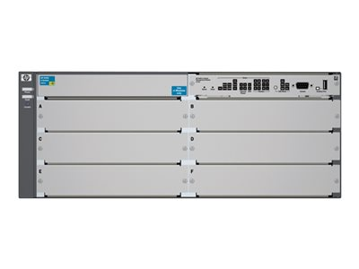 HPE 5406 zl - switch - managed - rack-mountable - with HP 5400 zl Switch  Premium License - remarketed