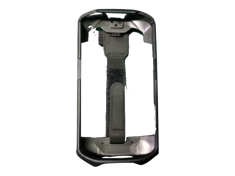 Zebra handheld protective boot with strap