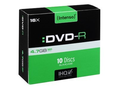 CD & DVD Intenso - DVD-R x 10 - 4.7 Go - support de stockage