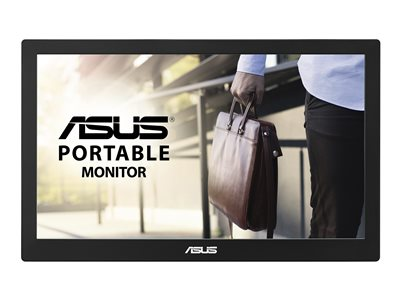 ASUS MB169B+ LED monitor 15.6INCH portable 1920 x 1080 Full HD (1080p) IPS 200 cd/m²