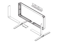 Cisco Floor Stand Kit - Mounting kit (feet, security wall bracket, floor stand, mounting hardware) (Monolithic)