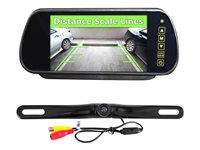 PYLE PLCM7400BT Rear view system display 7 in rearview camera