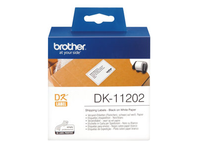 Brother DK-11202 Shipping etiketter 62 x 100 mm 300etikette(r)
