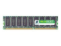 Corsair Value Select - DDR - 512 MB - DIMM 184-PIN - 400 MHz / PC3200 - CL2.5
