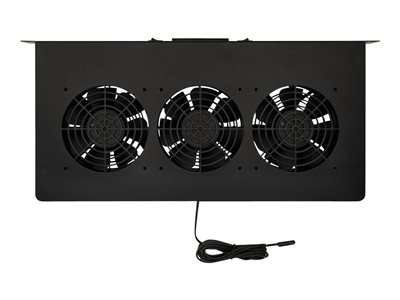 Tripp Lite 1U Blanking Panel with Temperature Sensor and High-Performance Fans