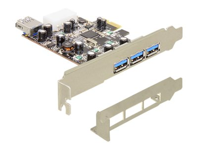 PCI Express Card > 3 x extern + 1 x intern USB 3.0