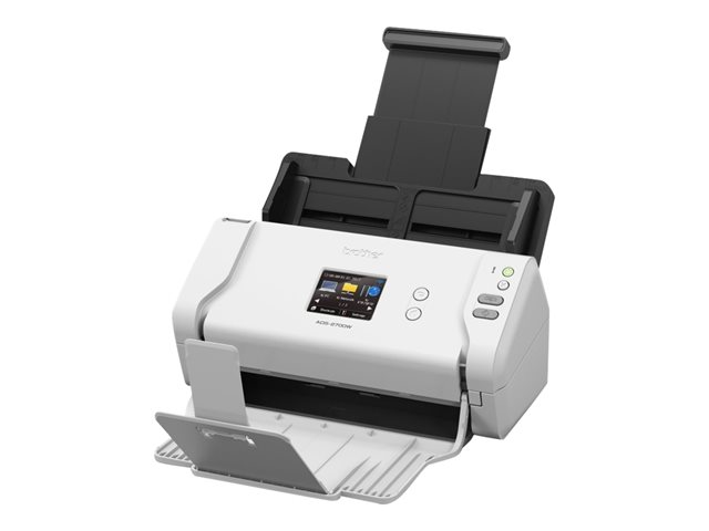 Brother ADS-2700W - Scanner de documents - Recto-verso - A4 - 600 ppp x 600 ppp - jusqu'à 35 ppm (mono) / jusqu'à 35 ppm (couleur) - Chargeur automatique de documents (50 feuilles) - USB 2.0, LAN, Wi-Fi(n), USB 2.0 (Host)