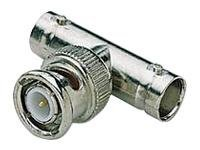 C2G Ethernet 10Base-2 connector BNC (F) to BNC (M) coaxial