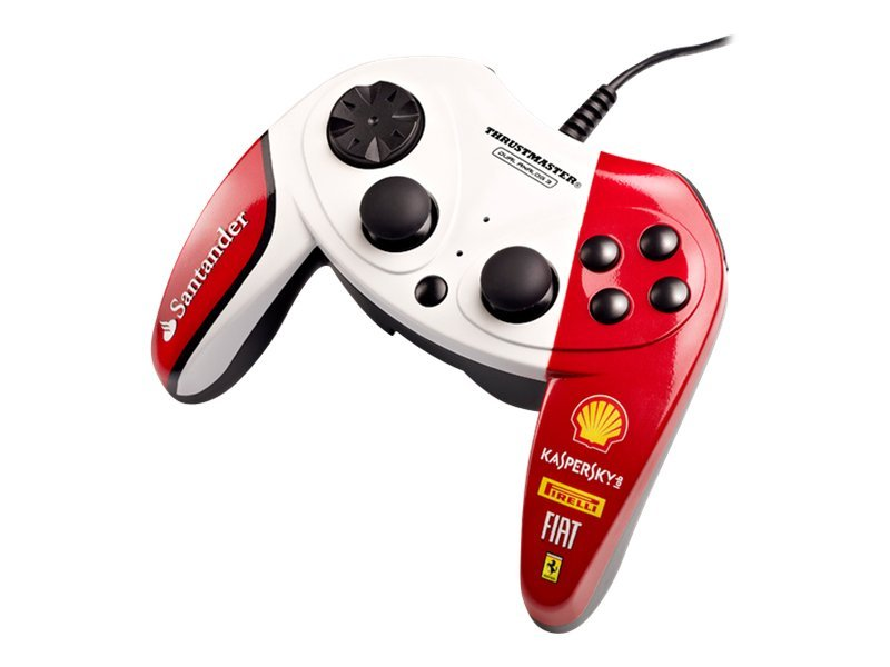 Thrustmaster F1 Dual Analog Ferrari 150th Italia - Exclusive Edition - Gamepad - 10 Tasten - verkabelt - für PC