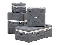 SKB Roto X Shipping Case Shipping case for audio system black (pack of 4)