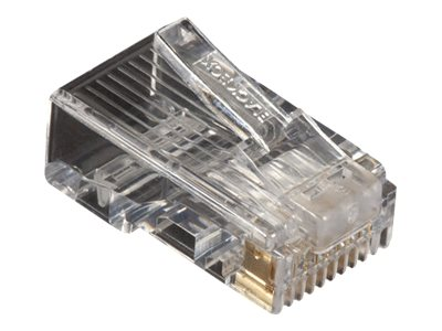 Black Box CAT5e Modular Plug - network connector