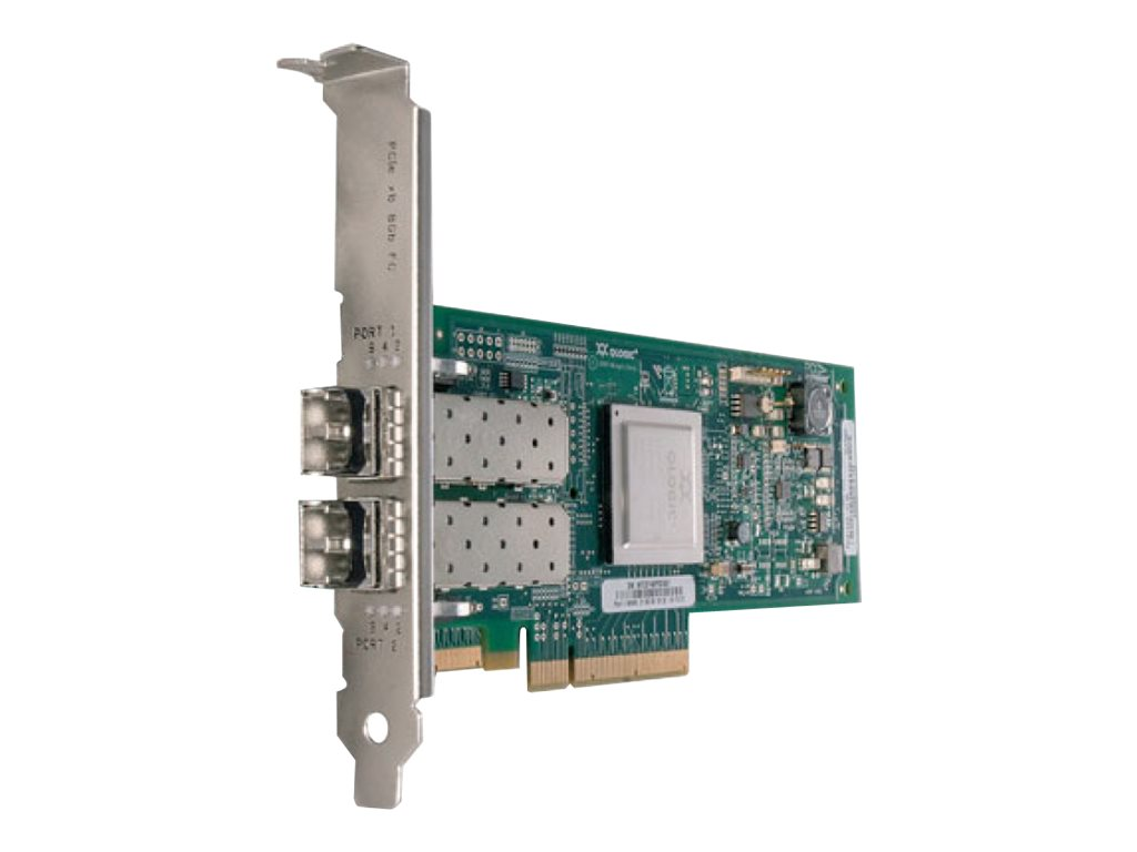 QLogic 8Gb FC Dual-port HBA for IBM System x - Hostbus-Adapter - PCIe x4 - 8Gb Fibre Channel x 2 - für System x3100 M5; x3250 M6; x32XX M2; x34XX; x3550 M2; x3650 M2; x3650 M4 HD; x3950 M2