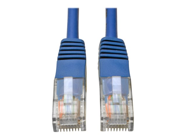 Tripp Lite 30ft Cat5e / Cat5 350MHz Molded Patch Cable RJ45 M/M Blue 30'